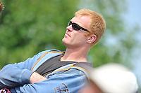 KAATSEN: SINT JACOB: 19-06-2016, Dames en Heren Hoofdklasse Vrije formatie, oud hoofdklasse kaatser Chris Wassenaar als toeschouwer, ©foto Martin de Jong
