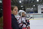 The Liberty Women's D1 Hockey Team plays Raleigh on September 21, 2013. (Photo by Ty Hester)