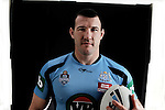 Blues team portraits at Crown Plaza Hotel Coogee. Captain Paul Gallen. (Photo: Steve Christo)