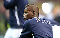 Fussball International  WM Qualifikation 2014   Italien - Daenemark                16.10.2012 Mario Balotelli (Italien)