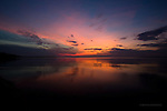 Lake Superior Summer sunset