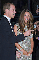 Kate, Duchess of Cambridge & Prince William attend the Tusk Awards - London