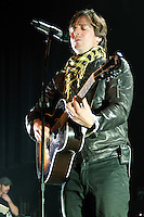 Raine Maida, frontman and founding member of iconic Canadian rock band 'Our Lady Peace' sings as the band play their album 'Clumsy' in its entirety on May 14, 2010, the first of several nights at the Vogue Theater in Vancouver.  (Scott Alexander/pressphotointl.com)