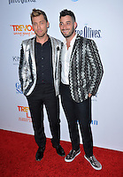 BEVERLY HILLS, CA. December 4, 2016: Lance Bass &amp; Michael Turchin at the 2016 TrevorLIVE LA Gala at the Beverly Hilton Hotel.<br /> Picture: Paul Smith/Featureflash/SilverHub 0208 004 5359/ 07711 972644 Editors@silverhubmedia.com
