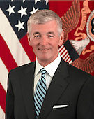 Mr. John M. McHugh was sworn in as the 21st Secretary of the Army on September 21, 2009, following his nomination by United States President Barack Obama and confirmation by the U.S. Senate.  As Secretary of the Army, he has statutory responsibility for all matters relating to the United States Army: manpower, personnel, reserve affairs, installations, environmental issues, weapons systems and equipment acquisition, communications, and financial management.  Secretary McHugh is responsible for the Department of the Army's annual budget and supplemental of over $200 billion. He leads a work force of more than 1.1 million active duty, Army National Guard, and Army Reserve Soldiers, 221,000 Department of the Army civilian employees, and 213,000 contracted service personnel. He has stewardship over 14 million acres of land.  At the time of his appointment as Secretary of the Army, Mr. McHugh was a sitting member of Congress representing Northern and Central New York.  During his nine terms in the U.S. House of Representatives, he earned a reputation as a staunch advocate for Soldiers and their Families, working tirelessly to ensure they have proper facilities, training, and the quality of life necessary to carry out wartime missions while caring for those at home.  As a Member of Congress, Mr. McHugh served as the Ranking Member of the House Armed Services Committee (HASC) with responsibility to oversee the policies and programs for the Department of Defense and each of the Armed Forces.  Before becoming Ranking Member, Congressman McHugh was first the Chairman of the Morale, Welfare and Recreation Panel and then Chairman and later Ranking Member of the Committee's Subcommittee on Military Personnel. Mr. McHugh also served as a senior member of the House Committee on Oversight and Government Reform, and for six years as the Chairman of the Subcommittee on the Postal Service that significantly reformed the Postal Service.  From 1997 to 2004, Mr. McHugh was a member of th