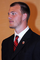 DC United goalkeeper Joe Willis, at the 2011 Season Kick off Luncheon, at the Marriott Hotel in Washington DC, Wednesday March 16 2011.