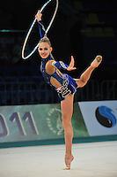 "ELIZAVETA NAZARENKOVA of Russia performs at 2011 World Cup Kiev, ""Deriugina Cup"" in Kiev, Ukraine on May 06, 2011."