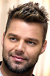 Singer Ricky Martin speaks about his next disk named 'Black and white', during an interview in Miami Beach, Florida on Friday October 26, 2007. (Photo/Cristobal Herrera).