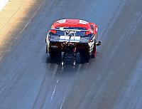 Jun 18, 2016; Bristol, TN, USA; NHRA pro mod driver Billy Glidden during qualifying for the Thunder Valley Nationals at Bristol Dragway. Mandatory Credit: Mark J. Rebilas-USA TODAY Sports