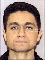 Washington, DC - September 26,  2001 -- Photo released by FBI of  Mohamed  Atta, one of the alleged hijackers of American Airlines Boeing 767 designated as Flight #11, from Boston to Los Angeles.  The flight departed Boston at 7:45 AM on Tuesday, September 11, 2001 and crashed into the North Tower of the World Trade Center  an hour later at 8:45 AM..Credit: FBI via CNP