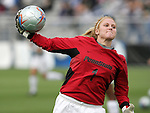 2 December 2005: Penn State's Amanda Brown. The University of Portland Pilots defeated the Penn State Nittany Lions 4-3 on penalty kicks after the teams played to a 0-0 overtime tie in their NCAA Division I Women's College Cup semifinal at Aggie Soccer Stadium in College Station, TX.