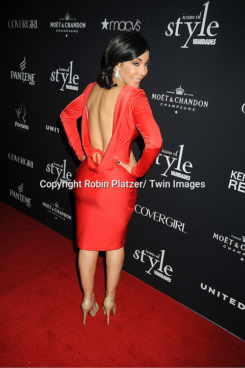 Yelema Solaw attends the Vanidades Magazine  Icons of Style Gala on September 27, 2012 at the Mandarin Oriental Hotel in New York City.