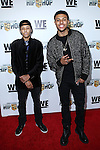Rusty Simmons and Diggy Simmons attend WE TV's Growing Up Hip Hop Premiere Party Held at Haus