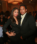 Dee Vasquez and Honoree and Celebrity Photographer Johnny Nunez attend COVERGIRL Queen Collection Presents The 2nd Annual Blackout Awards Held at Newark Hilton Gateway, NJ 6/12/11