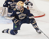 Andy Ryan (ND - 6) - The visiting University of Notre Dame Fighting Irish defeated the Boston College Eagles 7-2 on Friday, March 14, 2014, in the first game of their Hockey East quarterfinals matchup at Kelley Rink in Conte Forum in Chestnut Hill, Massachusetts.