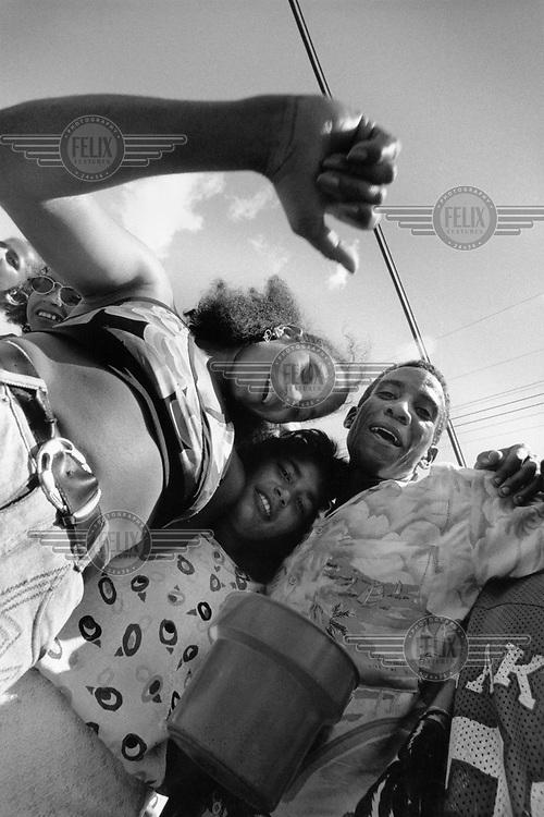 Dancing in Cienfuegos.