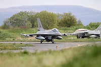 Norwegian F-16 pass French Rafale. Nato Tiger Meet is an annual gathering of squadrons using the tiger as their mascot. While originally mostly a social event it is now a full military exercise. Tiger Meet 2012 was held at the Norwegian air base Ørlandet.