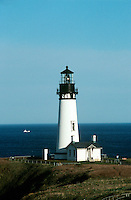 LIGHTHOUSE<br /> Yachina Lighthouse, Newport, OR<br /> Lighthouse with seascape