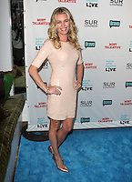Rebecca Romijn .Bravo's Andy Cohen's Book Release Party For &quot;Most Talkative: Stories From The Front Lines Of Pop Held at SUR Lounge, West Hollywood, California, USA..May 14th, 2012.full length pink peach dress sequins sequined hands on hips.CAP/ADM/KB.&copy;Kevan Brooks/AdMedia/Capital Pictures.