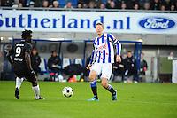 VOETBAL: HEERENVEEN: Abe Lenstra Stadion, SC Heerenveen - Vitesse, 21-01-2012, Eindstand 1-1, Wilfried Boni (#9), Viktor Elm (#7), ©foto Martin de Jong