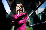 Fresno Mayor Ashley Swearengin poses for a portrait at City Hall in Fresno, Calif., September 24, 2012.