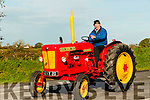 Moyvane Festival Vintage Rally : Paddy Kennelly, Knockanure leading the Moyvane Viontage Tractor parade as part of the Moyvane Village Festival on Sunday afternoon last.