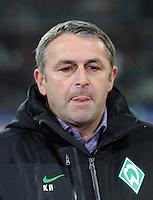 FUSSBALL   1. BUNDESLIGA  SAISON 2011/2012   10. Spieltag FC Augsburg - SV Werder Bremen           21.10.2011 Manager Klaus Allofs (SV Werder Bremen)