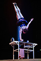 BIANCO, the new show from NoFit State circus. opens at the Roundhouse, Camden. The show is an immersive, promenade experience that takes place above, behnd and around a standing audience, and runs from 6th - 27th April.