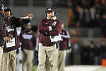 Mississippi State Coach Dan Mullen vs. Ole Miss at Vaught Hemingway Stadium in Oxford, Miss. on Saturday, November 24, 2012. Ole Miss won 41-24.
