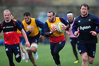 Michael van Vuuren of Bath Rugby in action. Bath Rugby training session on November 22, 2016 at Farleigh House in Bath, England. Photo by: Patrick Khachfe / Onside Images