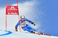 February 17, 2017: Florian EISATH (ITA) competing in the men's giant slalom event at the FIS Alpine World Ski Championships at St Moritz, Switzerland. Photo Sydney Low