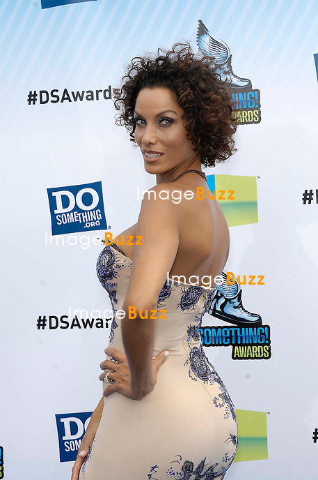 Nicole Murphy during the 2012 DO SOMETHING AWARDS, held at the Barker Hangar, on August 19, 2012, in Santa Monica, California..