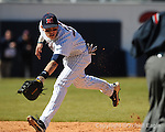 Ole Miss' Matt Snyder vs. Oakland University in Oxford, Miss. on Sunday, February 28, 2010. Ole Miss won 9-3.
