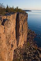 The Palisade Head and Shovel Point along Minnesota North Shore.