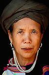 Portrait of Lisu woman, Thailand