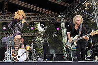 Frida Gold at Rock im Stadtpark 2011 in Magdeburg. Photo by Ruediger Knuth.