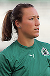 19 August 2009: Jillian Loyden (13) of Saint Louis Athletica.  Saint Louis Athletica was defeated by the visiting Sky Blue FC 0-1 in the post season Super Semifinal Women's Professional  Soccer game at Anheuser-Busch Soccer Park, in Fenton, MO.
