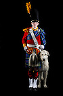 February 10, 2012; Irish Guard for the Notre Dame Magazine spring fashion issue. Photo by Barbara Johnston/University of Notre Dame