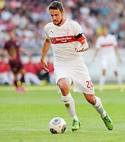 FUSSBALL   INTERNATIONAL   UEFA EUROPA LEAGUE   SAISON 2013/2014    Qualifikation, Rueckspiel VfB Stuttgart - HNK Rijeka      29.08.2013 Christian Gentner (VfB Stuttgart)