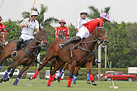 WELLINGTON, FL - MARCH 05: Facundo Pieres of Orchard Hill controls the ball to the goal as Valiente defeats Orchard Hill 14-11, in the 26 goal CV Whitney Cup Final, at the International Polo Club, Palm Beach on February 26, 2017 in Wellington, Florida. (Photo by Liz Lamont/Eclipse Sportswire/Getty Images)