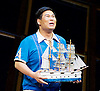 Thunderstorm <br /> by MO Fan <br /> based on the drama by Cao Yu <br /> Shanghai Opera House at The London Coliseum, London, Great Britain <br /> rehearsal <br /> 10th August 2016 <br /> <br /> <br /> Zhang Fantao as Zhou Chong <br /> <br /> <br /> Photograph by Elliott Franks <br /> Image licensed to Elliott Franks Photography Services