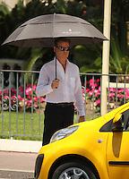 "Pierce Brosnan on movie set "" Love Punch "" - Cannes"