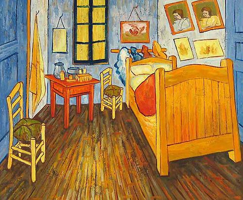 El dormitorio de Van Gogh