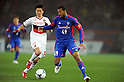 Hayuma Tanaka (Grampus), Lucas (FC Tokyo), MARCH 18, 2012 - Football / Soccer :2012 J.LEAGUE Division 1 between FC Tokyo 3-2 Nagoya Grampus at Ajinomoto Stadium, Tokyo,  Japan. (Photo by Atsushi Tomura /AFLO SPORT) [1035]