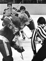 Seals Carol Vadnais, Joe Hardy and Norm Ferguson. (photo/Ron Riesterer)