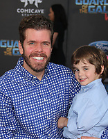 HOLLYWOOD, CA - April 19: Perez Hilton, Mario Armando Lavandeira III, At Premiere Of Disney And Marvel's &quot;Guardians Of The Galaxy Vol. 2&quot; At The Dolby Theatre  In California on April 19, 2017. <br /> CAP/MPI/FS<br /> &copy;FS/MPI/Capital Pictures