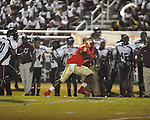 Lafayette High's D.K. Buford (2) vs. Greenwood in Oxford, Miss. on Friday, August 24, 2012. Lafayette won 41-0.