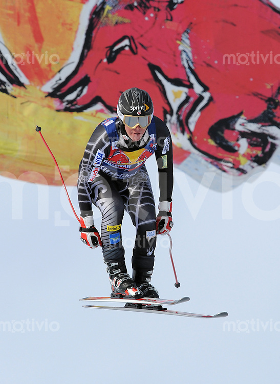 Ski Alpin;  Saison 2008/2009  24.01.2009 69. Hahnenkamm Rennen  Abfahrt    Marco Sullivan (USA) FOTO : Pressefoto ULMER/Markus Ulmer xxxPUBLICATIONxNOTxINxSUIxxx