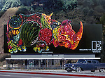 Billboard promoting Elektra music group Rhinoceros circa 1967