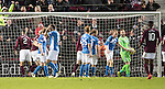 Hearts v St Johnstone&hellip;05.11.16  Tynecastle   SPFL<br />Zander Clark shows his frustration as Callum Paterson scores a late equaliser<br />Picture by Graeme Hart.<br />Copyright Perthshire Picture Agency<br />Tel: 01738 623350  Mobile: 07990 594431